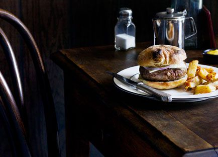 April Bloomfield: Lamb burger