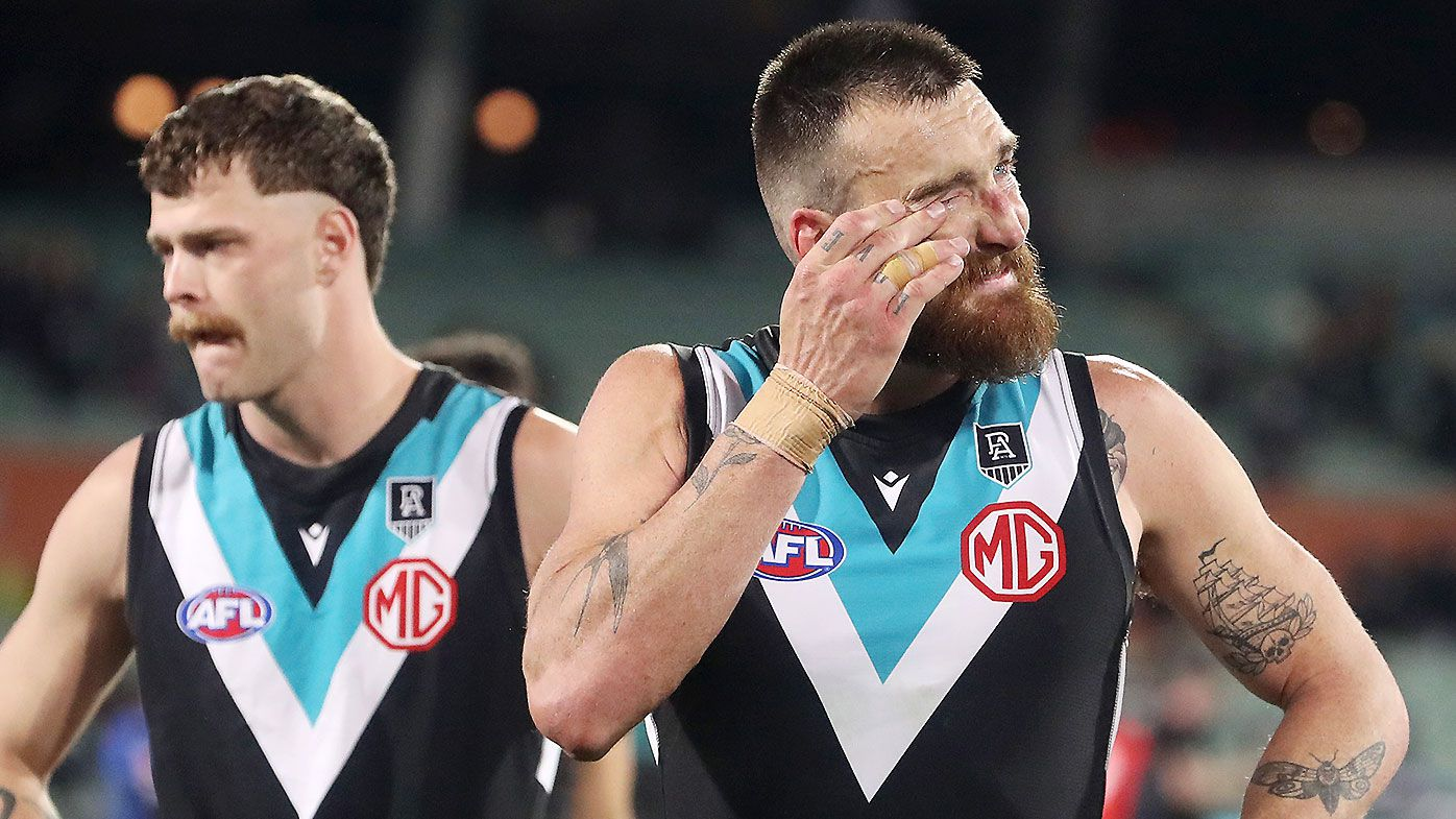 Port Adelaide icon Kane Cornes says preliminary final humiliation will have lasting impact