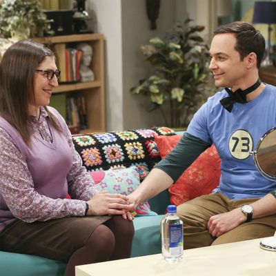 A possible baby for Sheldon and Amy?