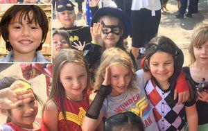School's superhero tribute to beloved friend Julian