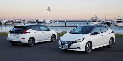 An old faithful, the new-look Nissan Leaf could be in Australia anytime between December and March. Picture: Supplied