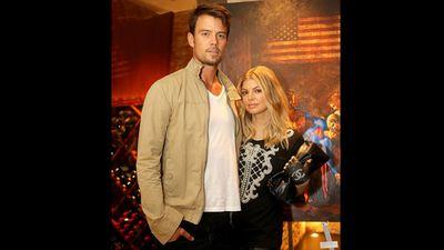 Stacy Ferguson and Josh Duhamel
