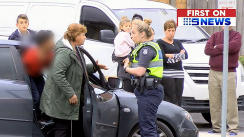 The woman was questioned by police. (9NEWS)