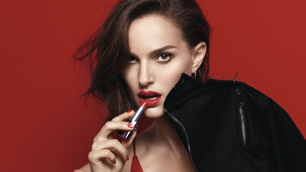 Natalie Portman likes this new Dior Lipstick a lot ... She's pretty sure you will too.