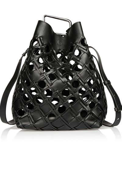 "<a href=""https://www.net-a-porter.com/au/en/product/536026/3_1_phillip_lim/quill-cutout-leather-bucket-bag "" target=""_blank"">3.1 Phillip Lim Cutout Bucket Bag, $788</a>"