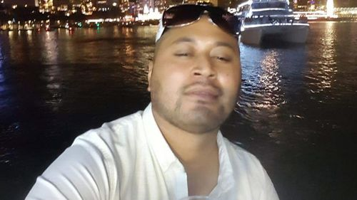 Geo Sione, 35, was found dead at a unit in St Marys in Sydney's west yesterday.