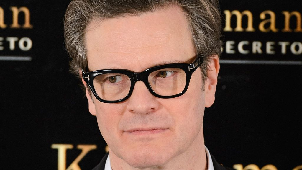Actor Colin Firth at the opening of the original Kingsman film. Image: Getty