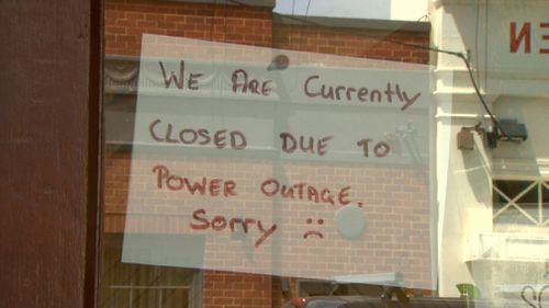 Tens of thousands of properties were left without power yesterday when the mercury rose higher than 40 degrees.