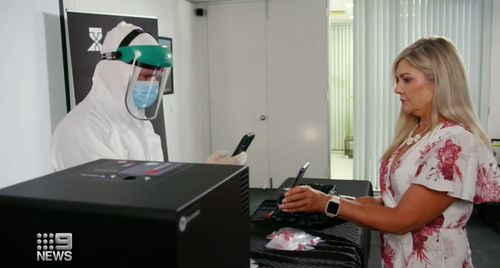 Trials underway for rapid COVID testing machine
