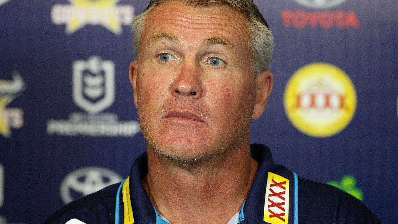 Gold Coast coach Garth Brennan