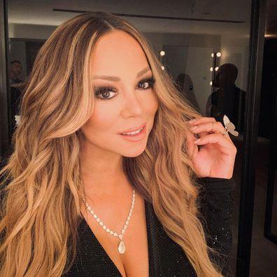 Mariah Carey, Instagram photo, selfie