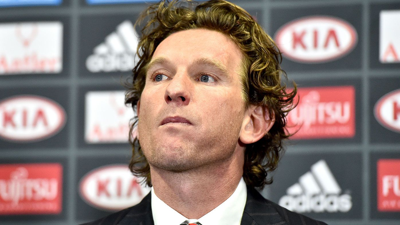 Collingwood legend Tony Shaw pours water on potential James Hird return
