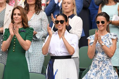 Claims Pippa and Meghan don't get along.