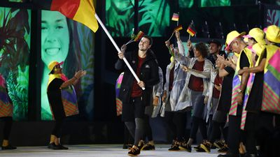 Unlike Germany who decided to wear everything