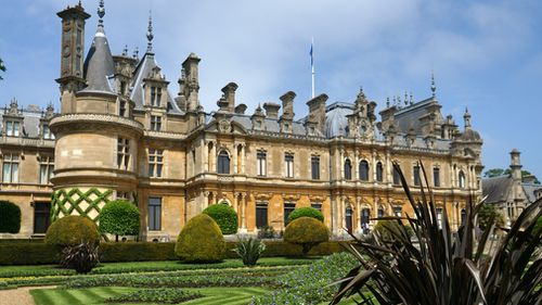 The wreckage reportedly landed in the grounds of Waddesdon Manor. (Getty)