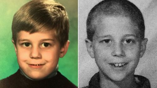Photos of Andrew Golden as a child. Golden and Mitchell Johnson were minors at the time of the 1998 shooting when they killed five people in what was then the second-deadliest US school shooting.