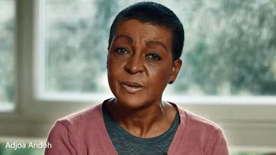 Adjoa Andoh in NHS video on COVID-19 vaccination