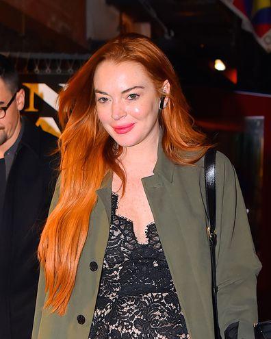 Lindsay Lohan, New York