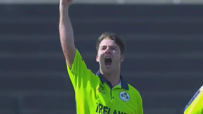 Irish seamer's double hat-trick stuns cricket world