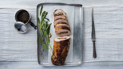 Food fight: festive turkey v roast pork