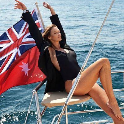 Flying the flag for 50-somethings in <em>Elle </em>Australia.