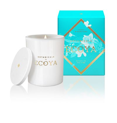 Botanicals by ECOYA Botanic Jar in Coral & Narcissus, $34.95.