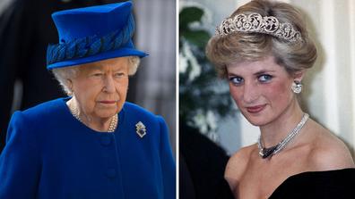 Queen's heartbreak over Diana's death