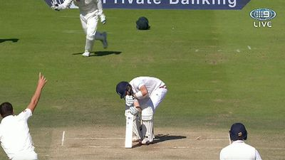 Joe Root bowled