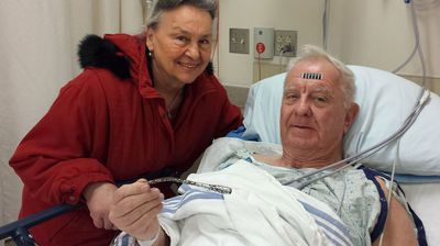 """<p _tmplitem=""""1"""">Fifty one years after having an auto part lodged in his arm in a head-on smash with a truck an American man has finally had the foreign object surgically removed.</p> <p _tmplitem=""""1"""">Illinois resident Arthur Lampitt, 75, was driving to work one day in 1963 when he collided with a truck. The crash smashed his hip, destroyed his car and left the seven inch indicator switch in his arm.</p> <p _tmplitem=""""1"""">The father of four was unaware of the presence of his unwitting crash memento until he set off a metal detector during a visit to a courthouse around 15 years ago.</p> <p _tmplitem=""""1"""">Doctors found the metal rod lodged in his arm but decided to leave it in there as it wasn't causing Mr Lampitt pain.</p> <p _tmplitem=""""1"""">That was until a few weeks ago when the rod seemed to have shifted and started bulging.</p> <p _tmplitem=""""1"""">Doctors removed the indicator on Wednesday and Mr Lampitt said he may make a keychain of the object which has been with him for most of his life.</p>(AAP)"""