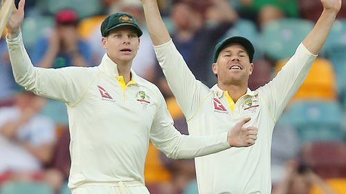 Steve Smith and David Warner were banned from representing their country for 12 months over the scandal. (AAP)