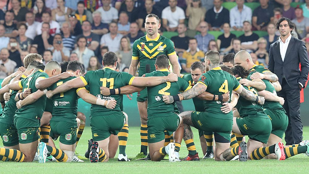 Rugby League World Cup: Johnathan Thurston and Cameron Smith lead indigenous tribute