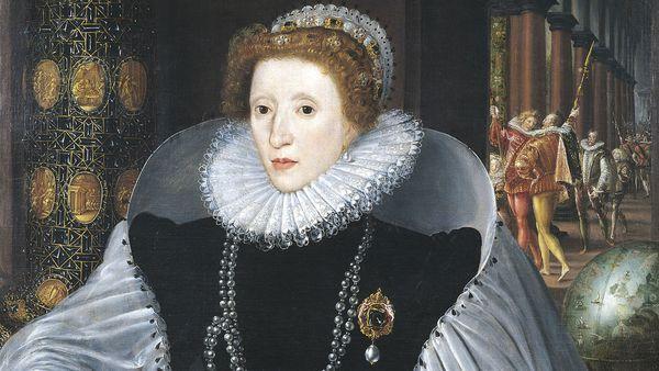 Portrait of Queen Elizabeth I by Quinten Metsys II