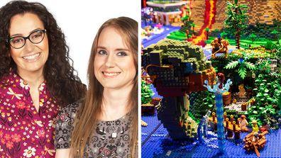Annie and Runa LEGO Masters