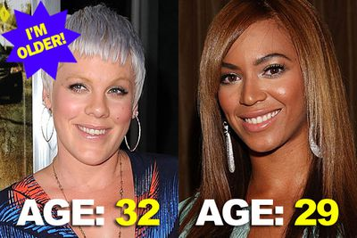 Can you pick the slightly-older celeb in these famous pairs? Careful - Botoxed foreheads can be deceiving!