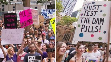 Sydney NSW Pill Testing protest rally