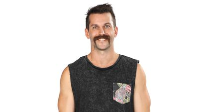 Nic Manning competing in Australian Ninja Warrior 2020.