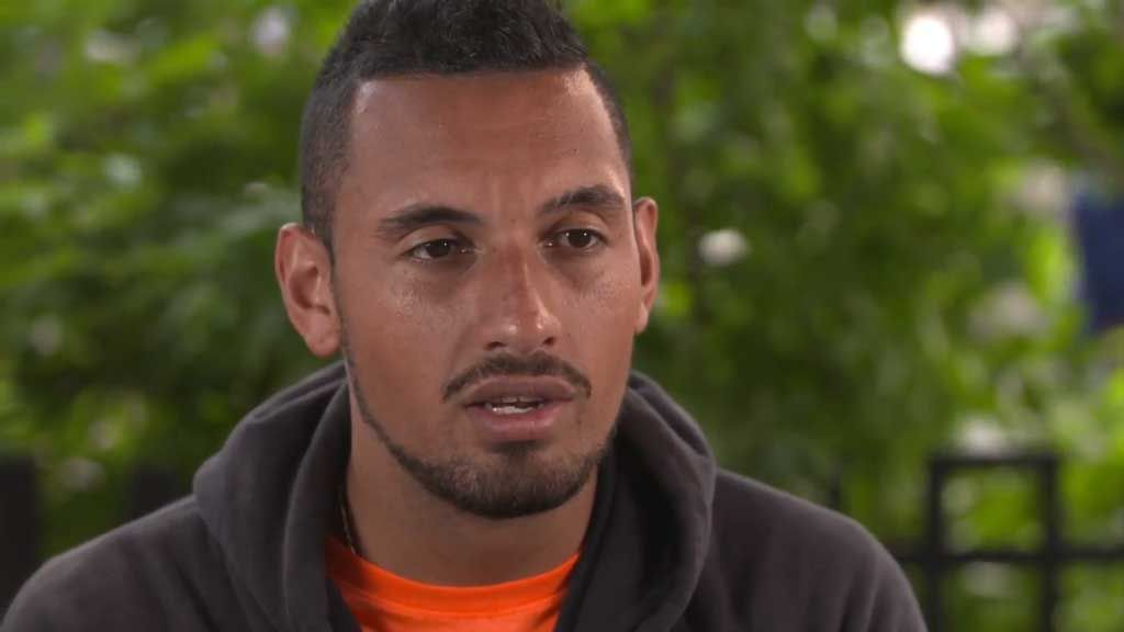 Kyrgios talks up Hewitt's influence