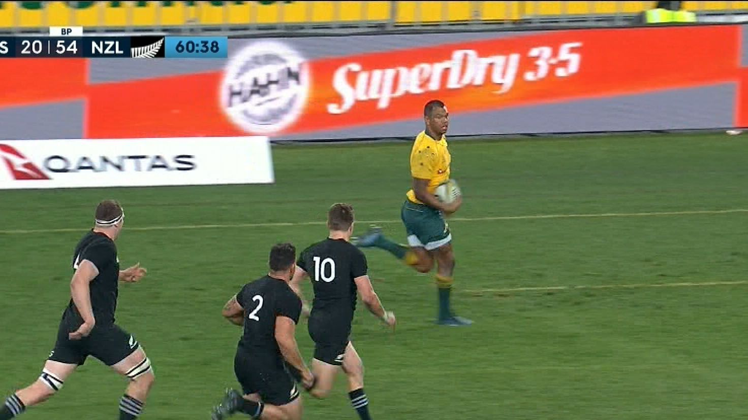 Wallabies taught a lesson