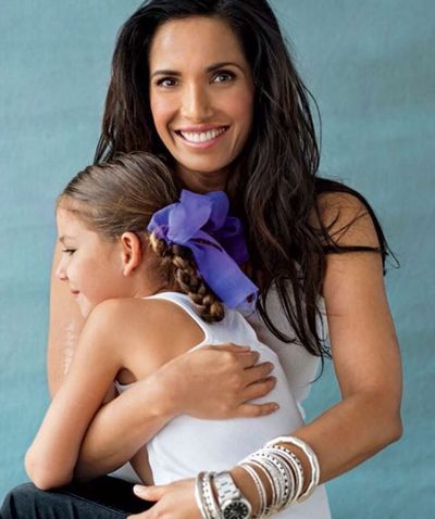 """<p>Top Chef host, Padma Lakshmi, is bringing up her daughter Krishna, seven years, alone. Krishna Lakshmi-Dell, was conceived by Padma and venture capitalist Adam Dell, while Lakshmi was on a break from her relationship with billionaire Teddy Forstmann. """"It's the only way of life I've known,"""" she told the New York Post. """"I was raised by a single mom. I was told I couldn't have children, so every day I am kissing the sky with happiness about it,"""" said Lakshmi.</p>"""