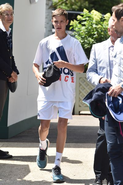 "Romeo Beckham has taken the style spotlight off his parents, David and Victoria, for a trip to Wimbledon over the weekend.<br /> <br /> The 15-year-old Burberry muse attended day nine of The Championships with grandfather, Anthony Adams, in tennis whites courtesy of Adidas.<br /> <br /> With a father who is one of football's most iconic faces and a mother who is one of the fashion world's most coveted designers, sporting and sartorial instincts go hand in hand for the teenager.  <br /> <br /> Beckham wasn't the <a href=""https://style.nine.com.au/2018/07/15/20/20/meghan-markle-emma-watson-wimbledon"" target=""_blank"" title=""only stylish guest in attendance thisyear"">only stylish guest in attendance this year</a>. Olivia Munn, Stella McCartney, Emma Watson and<a href=""http://https://style.nine.com.au/2018/07/16/13/17/kate-middleton-stylish-wimbledon-outfits"" target=""_blank"" title="" the royal duchesses""> the royal duchesses</a> are some of the other A-list names that took out top honours in the style stakes this year.<br /> <br /> Click through to see all the best celebrity fashion wins from Wimbledon 2018."