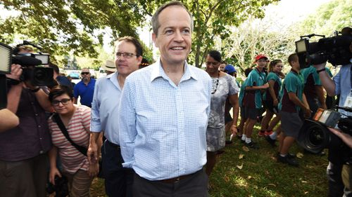 Bill Shorten attended a gathering to commemorate National Sorry Day in Darwin yesterday. (AAP)