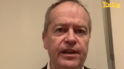 Bill Shorten said Australian state's must unite and present a 'message of hope'.