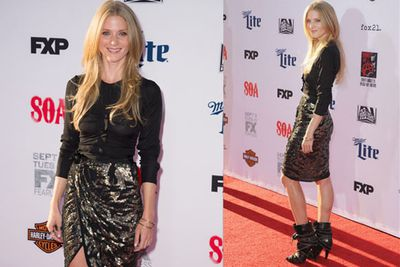 Winter Ave Zoli is all studs and sparkles.
