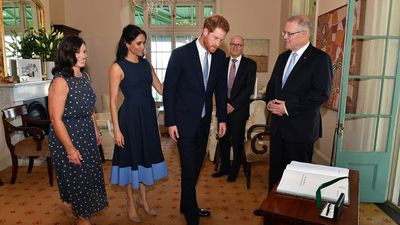 The Morrisons meet the Sussexes