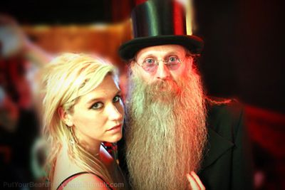 "Ke$ha reckons facial hair looks better on fantasy folk. 'Magical wizard beard,' reads the caption for this pic. Image: <a href=""http://putyourbeardinmymouth.tumblr.com/"" target=""new"">putyourbeardinmymouth.tumblr.com</a>"