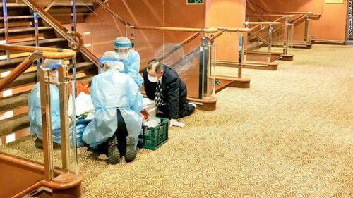 Japan screens cruise ship for coronavirus