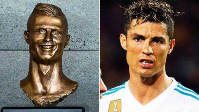Ronaldo bust