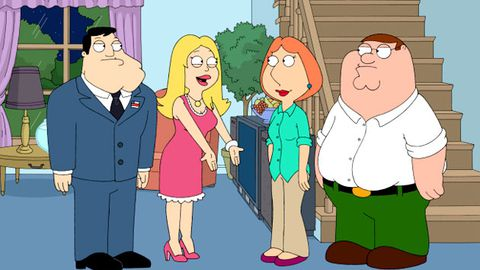 Why were Family Guy, American Dad and The Cleveland Show all pulled from the airwaves?