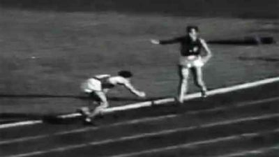 """<p _tmplitem=""""4"""">John Landy, the mile world record holder at the time, stopped mid-race to see if the fallen Ron Clarke was okay.</p><p _tmplitem=""""4""""> Despite lagging the field by some 40 metres, Landy caught the rest of the field and won the race.</p>"""