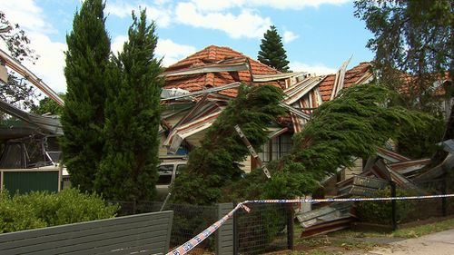 Nine people were rescued from floodwaters and more than 40,000 properties were without electricity after the wild storms tore through Sydney and the Illawarra and the Hunter regions on Friday night.